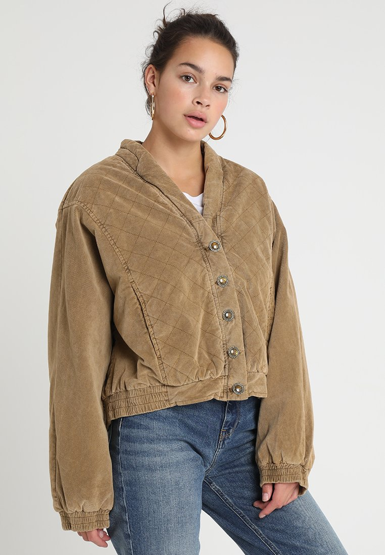 Free People - MAIN SQUEEZE JACKET - Giacca da mezza stagione - gold