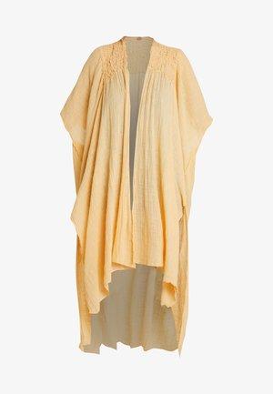 ANGELICA KIMONO - Lehká bunda - lemon
