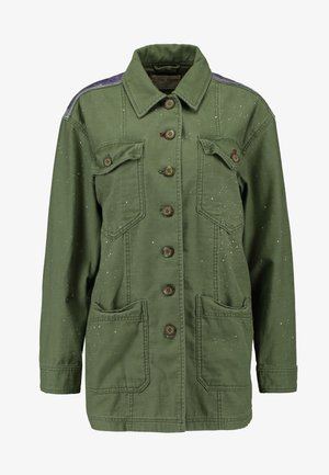 SPRUCE MILITARY JACKET - Lehká bunda - moss