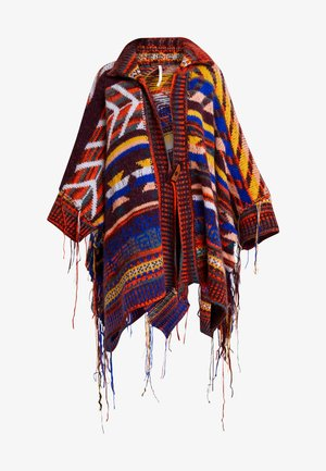 FOLLOW THE ARROW PONCHO - Cardigan - multi