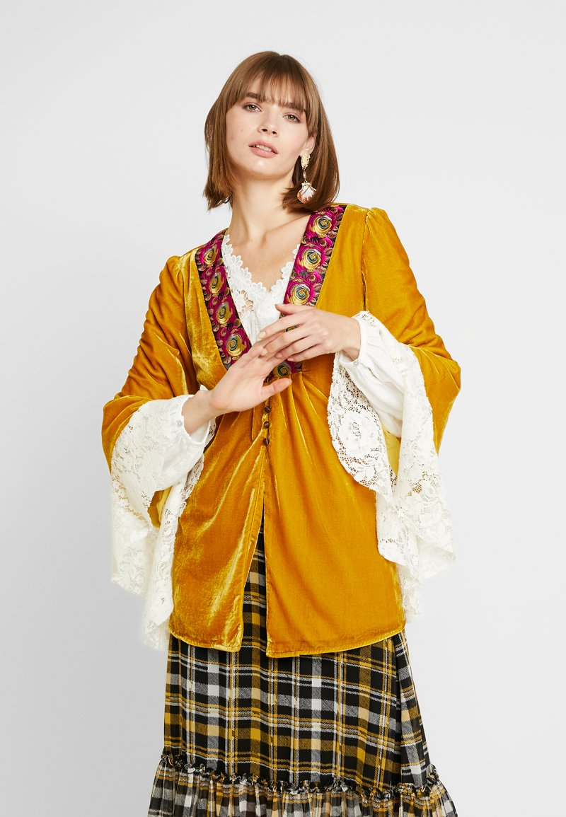 Free People - WANDERLUST JACKET - Giacca leggera - gold