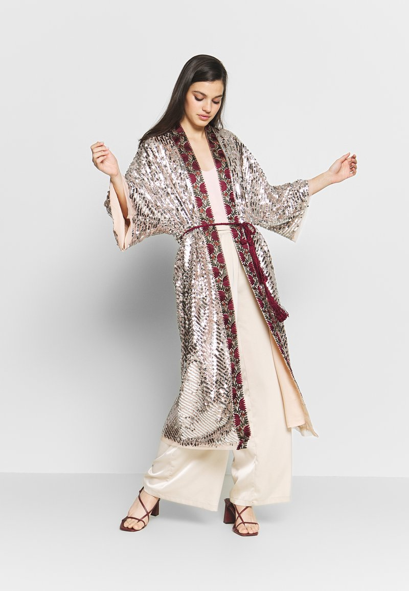 Free People - LIGHT IS COMING DUSTER - Kurtka wiosenna - silver