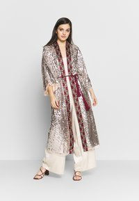 Free People - LIGHT IS COMING DUSTER - Tunn jacka - silver - 1