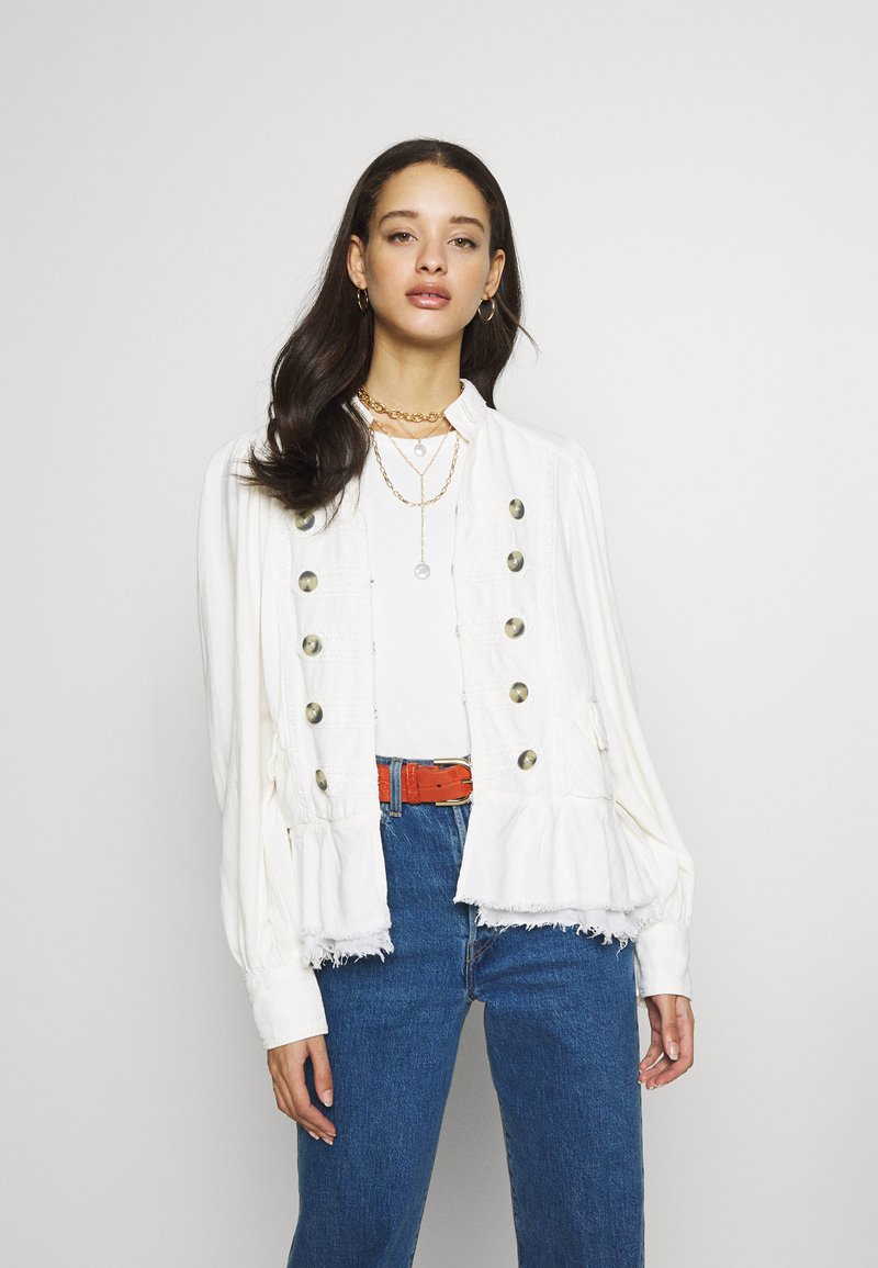 Free People - ARIANA JACKET - Lehká bunda - white
