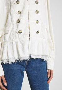 Free People - ARIANA JACKET - Lehká bunda - white - 5