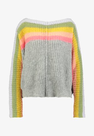 SEE THE RAINBOW SWEATER - Neule - grey