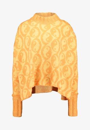 YIN YANG SWEATER - Maglione - yellow
