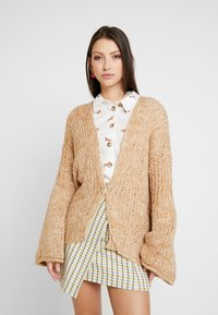 Free People - HOME TOWN CARDI - Cardigan - neutral combo - 0
