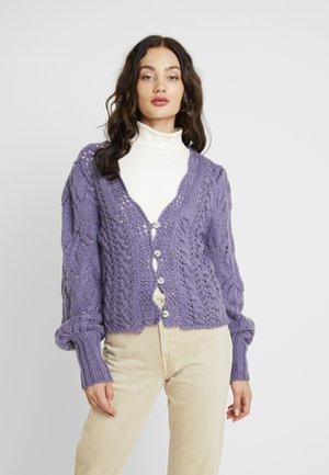 BALI DREAMER - Kardigan - lavender