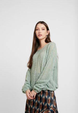 SOFT - Sweter - green