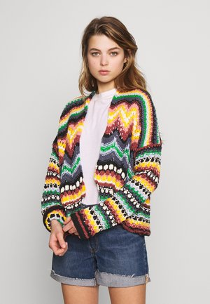 FEELING NOSTALGIC CARDI - Cardigan - multicolor