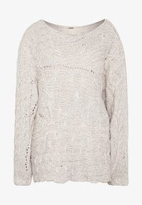 Free People - AGAINST THE TIDE SWEATER - Sweter - white - 4