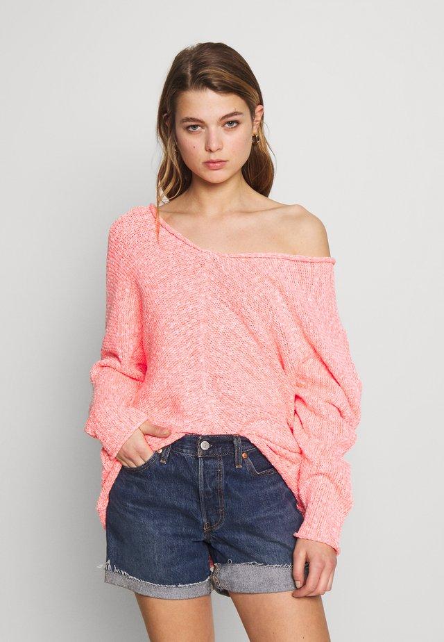 BRIGHT LIGHTS - Jersey de punto - pink