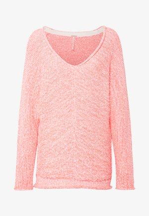 BRIGHT LIGHTS - Stickad tröja - pink