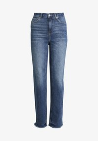 Free People - STRAIGHT SLOUCH - Jeans Relaxed Fit - indigo blue
