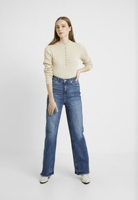 Free People - STRAIGHT SLOUCH - Džíny Relaxed Fit - indigo blue - 1