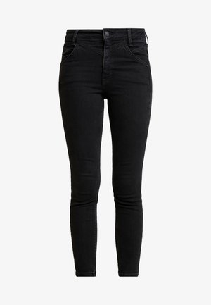 RILEY SEAMED - Jeans Skinny Fit - black