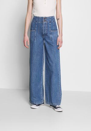 MIDNIGHT CITY WIDE LEG - Flared Jeans - blue