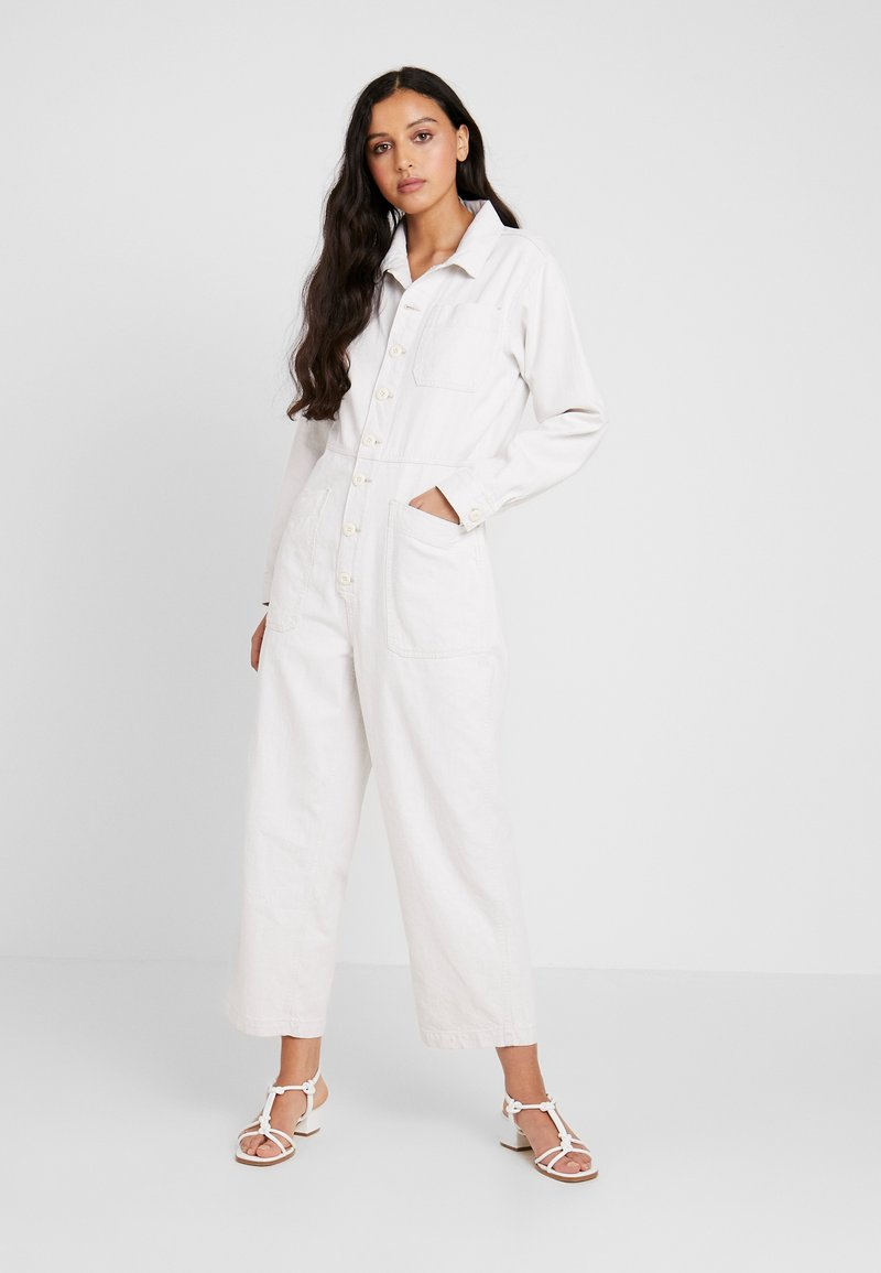 Free People - GIA COVERALL - Mono - ivory