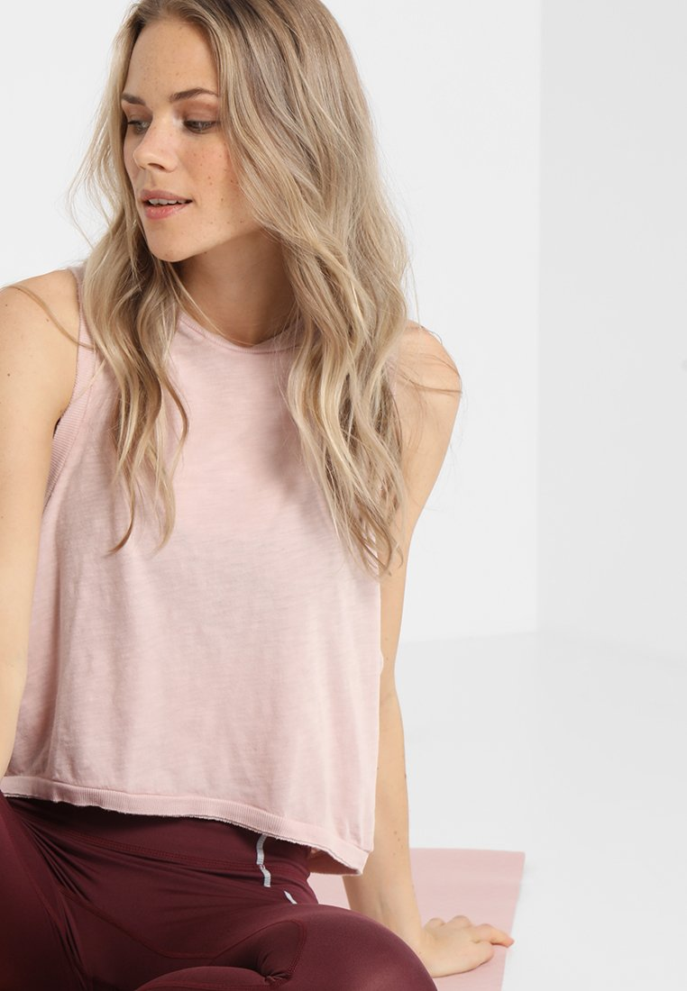 Free People - LOVE TANK - Topper - taupe
