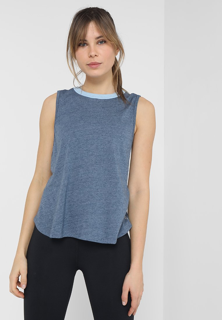 Free People - VALENTINE CASUAL TANK - Top - blue
