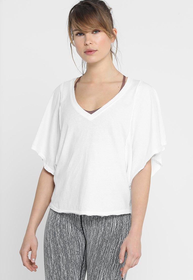 Free People - ARTEMIS TEE - Camiseta básica - white