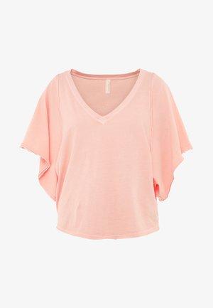 ARTEMIS TEE - T-shirt basic - coral