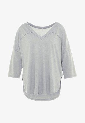 QUARTER BACK - Camiseta de manga larga - grey