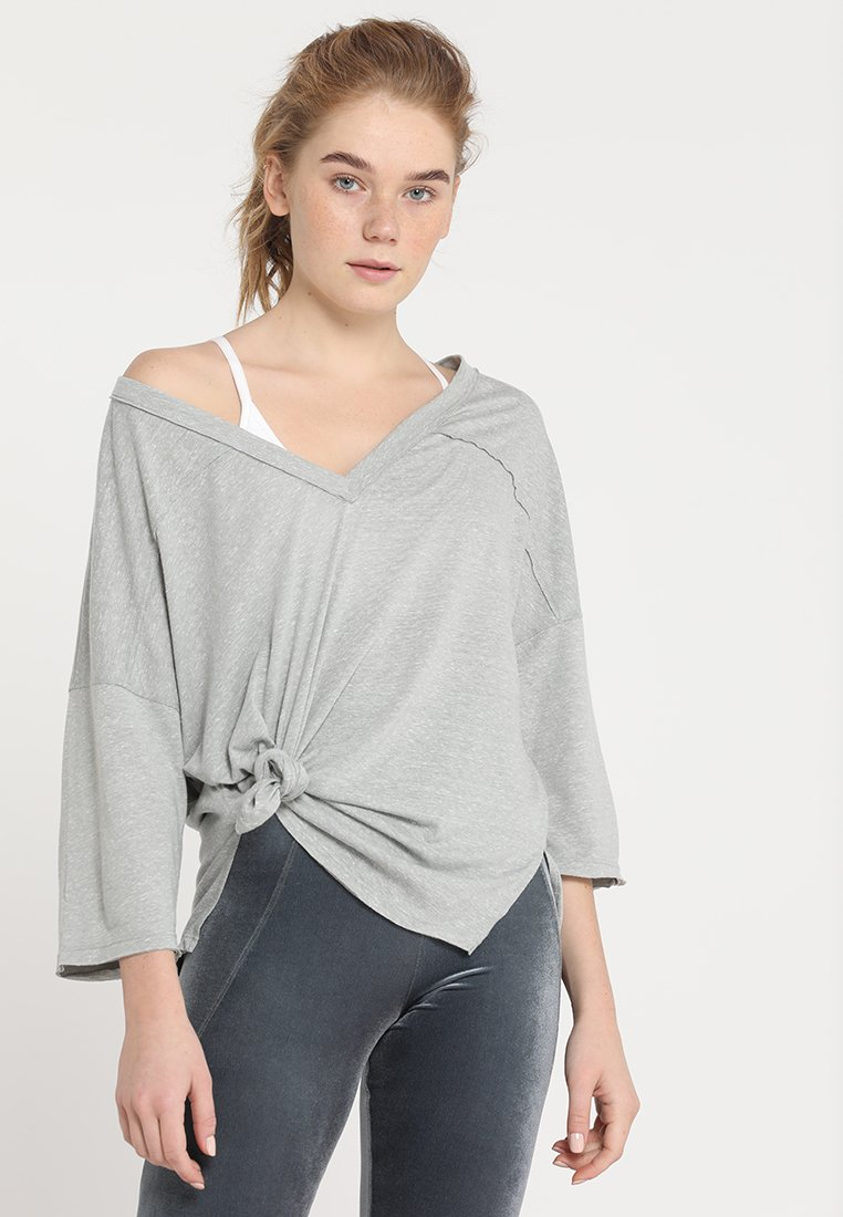 Free People - QUARTER BACK - Langærmede T-shirts - grey