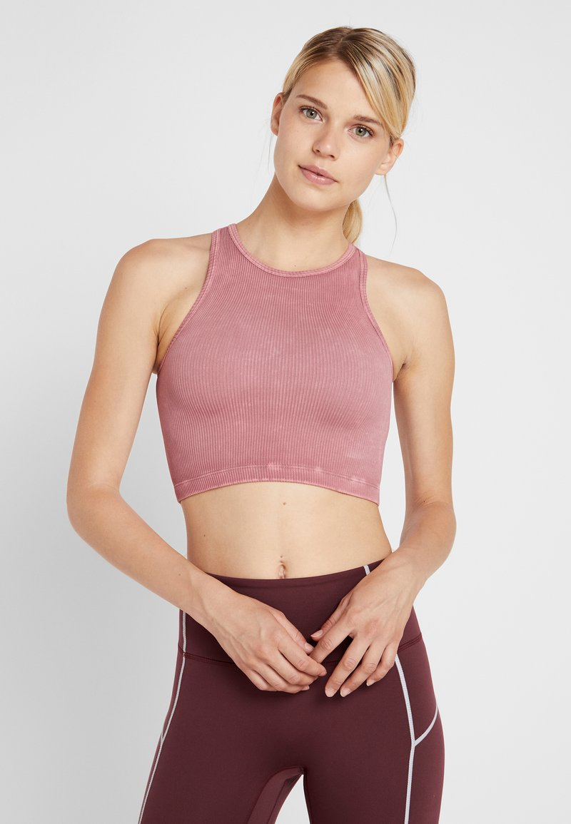 Free People - SEAMLESS ROXY TANK - Top - vintage assam red