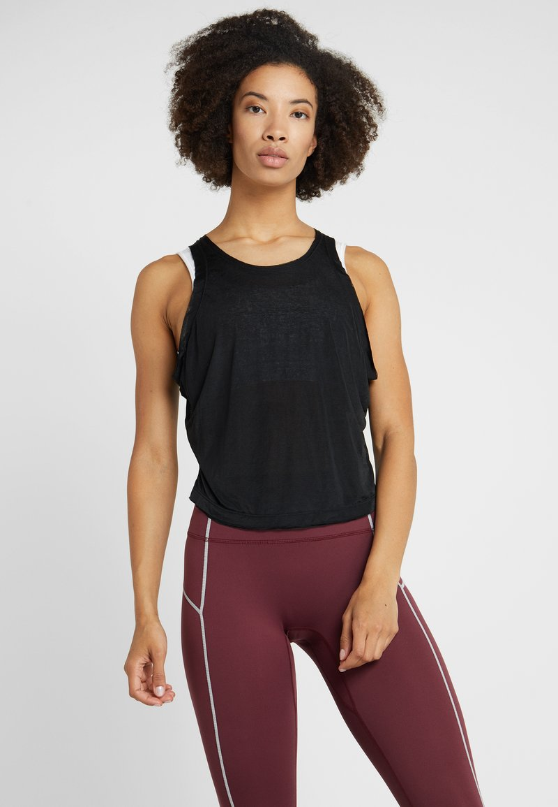Free People - FP MOVEMENT LIFES A WAVE TANK - Top - black