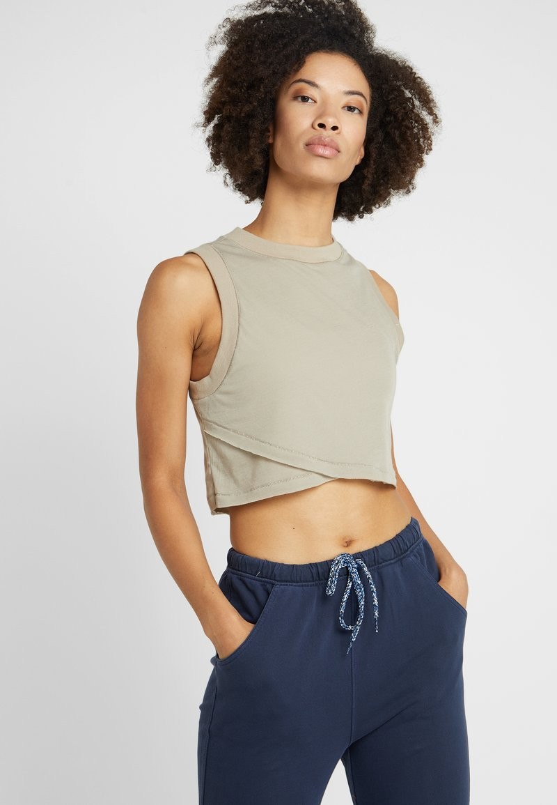 Free People - CUTIE BUTI TANK - Top - tan