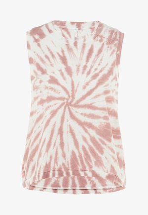 FP MOVEMENT LOVE TANK TIE DYE - Topper - taupe