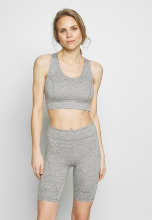 LIGHT SYNERGY CROP - Sport BH - grey