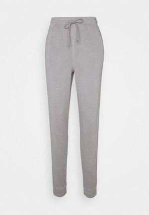 BACK INTO IT JOGGER - Teplákové kalhoty - grey