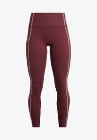 Free People - FP MOVEMENT YOURE A PEACH LEGGING - Punčochy - wine - 4