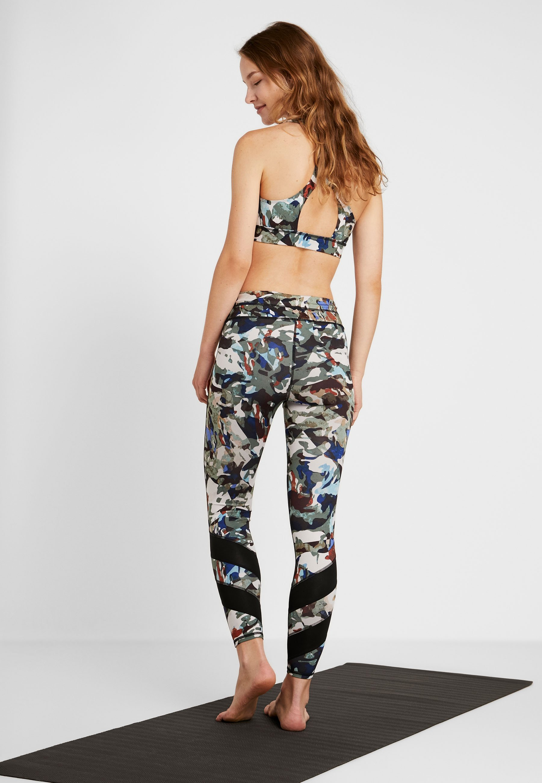 Free Multicolor Daybreak LeggingCollant People Graphic CordxBeW