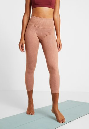 GOOD KARMA LEGGING - Legging - sand