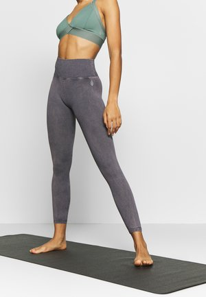GOOD KARMA LEGGING - Tights - graphite