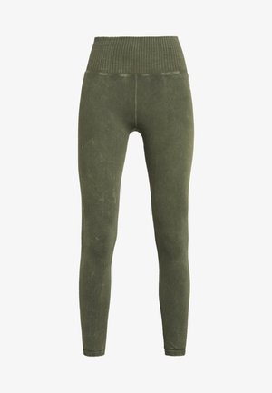 GOOD KARMA LEGGING - Trikoot - army