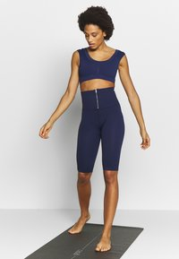 Free People - PART OF ME BIKESHORT - Punčochy - navy - 1