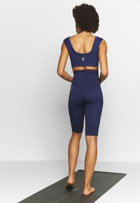 Free People - PART OF ME BIKESHORT - Punčochy - navy - 2