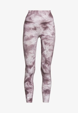 GOOD KARMA TIE DYE LEGGING - Collants - purple