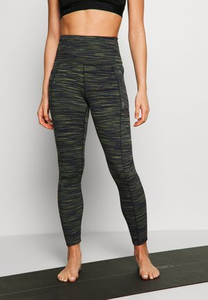 ROLL OUT - Legginsy - mottled dark grey