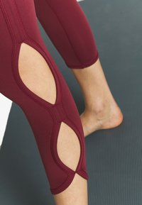 Free People - HIGH RISE INFINITY - Legging - wine - 5