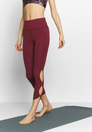 HIGH RISE INFINITY - Tights - wine