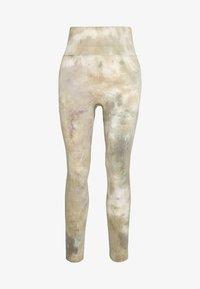 Free People - PRISMA LEGGING - Legging - green combo - 4