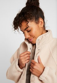 Free People - HIT THE SLOPES JACKET - Fleecejas - neutral - 3
