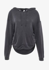 Free People - FP MOVEMENT BACK INTO IT HOODIE - Mikina s kapucí - black - 3