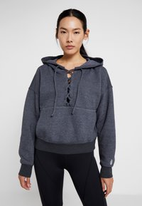 Free People - FP MOVEMENT BELIEVE IT SWEAT - Mikina s kapucí - black - 0